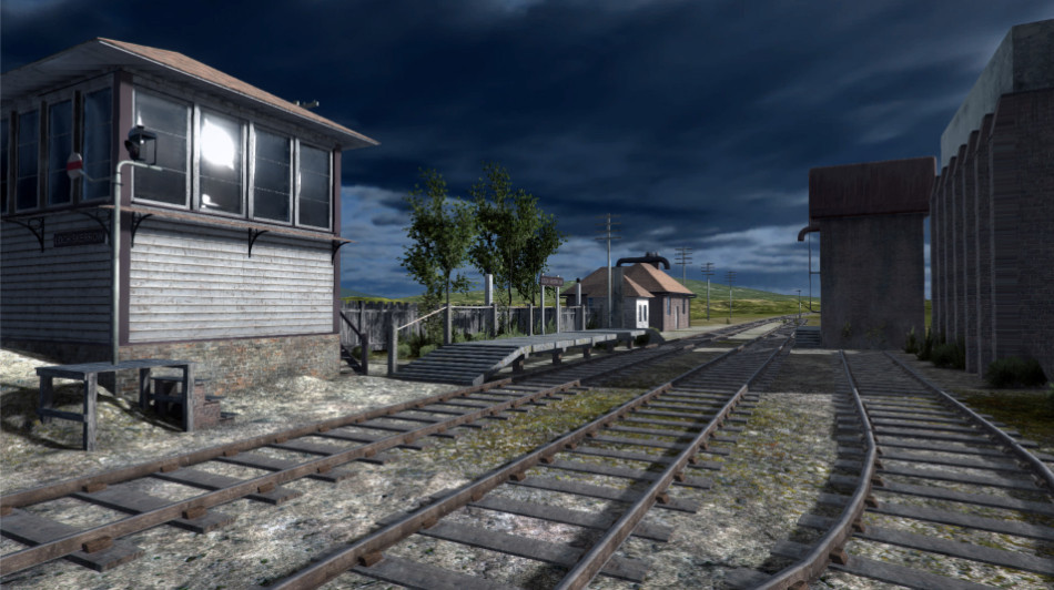 Lock Skerrow Railway Station 2
