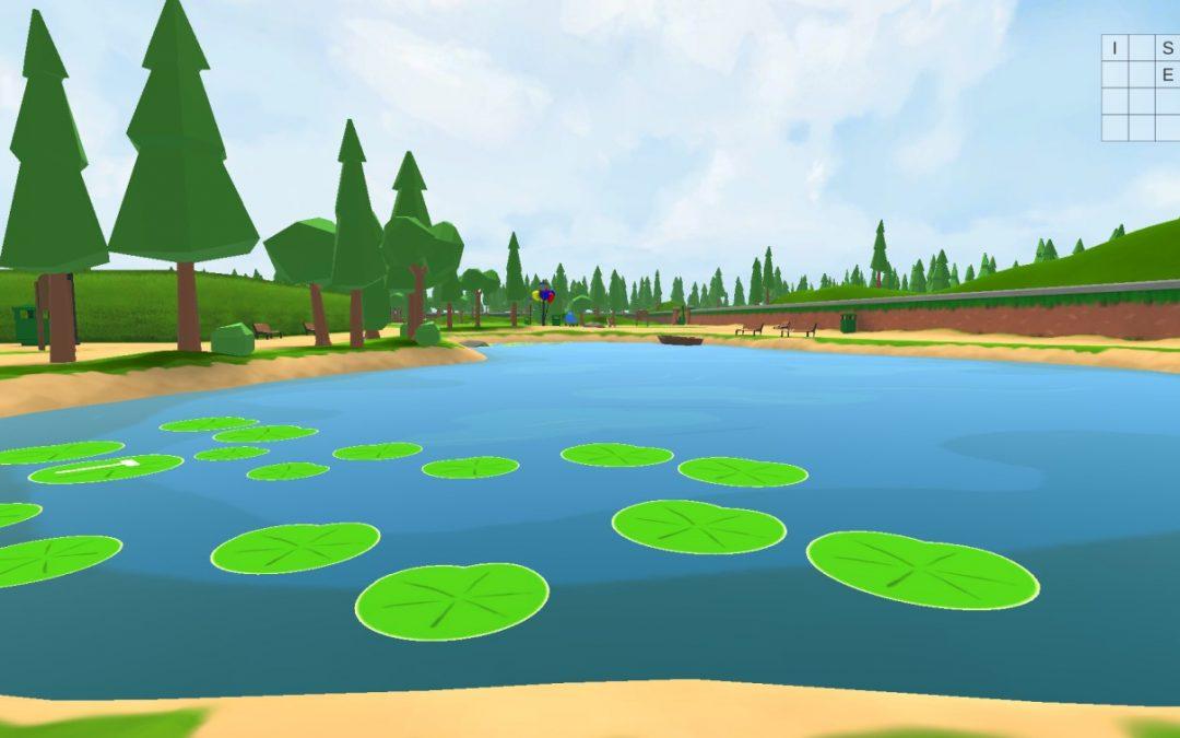 Miranda's Waltz, a 3D interactive game environment