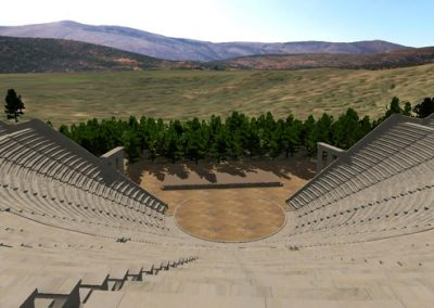 The Epidauros Amphitheater Virtual Walk-Through