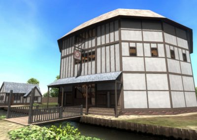 Virtual Reconstruction of the Rose Theatre