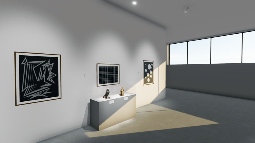 Ortelia Curator - Exhibition Design Software for galleries and museums